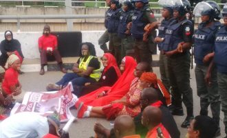 VIDEO: BBOG dares police, vows to continue protest at Unity Fountain