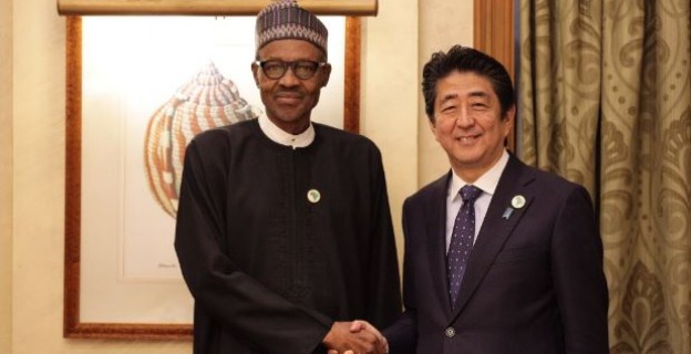 Buhari holds bilateral meeting with Japanese Prime Minister