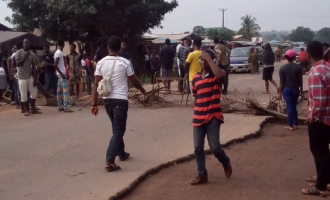 FUNAAB protest: We were peaceful until police started shooting at us, student reveals