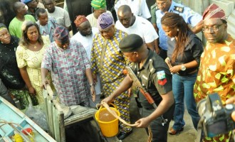 Illegal oil wells found in 12 residential buildings in Lagos