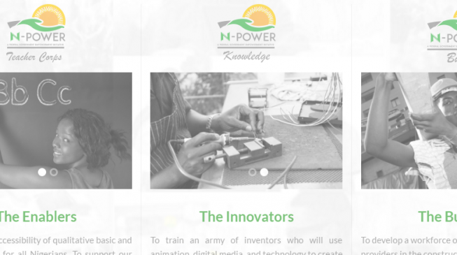 N-Power application extended by two weeks