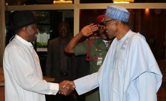 Jonathan salutes Buhari at 75, says 'your place in historyguaranteed'