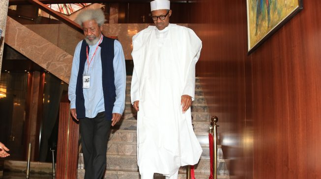 Soyinka: So many unforced errors… I think Buhari is under a trance