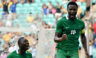 Mikel scores as Nigeria set up semi-final clash with Germany