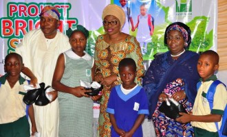 Ambode's wife: It's heartbreaking to see pupils go to school without shoes