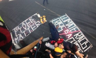 Black Lives Matters protesters shut runway of London City Airport