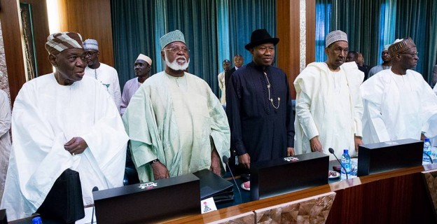 Jonathan back at Council of State meeting