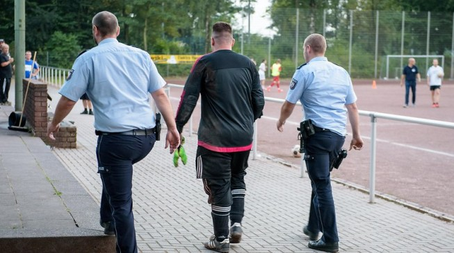 Marco KwiotekGerman goalkeeper arrested after conceding 43 goals in game