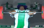 The moment Paralympian Orji won gold for Nigeria