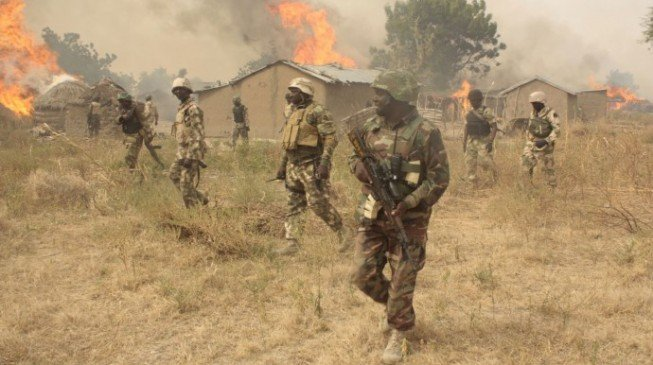 Soldiers, Boko Haram fighters exchange gunfire in Maiduguri