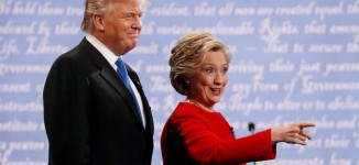 EXTRA: My skin crawled when Trump breathed down my neck, says Hillary Clinton
