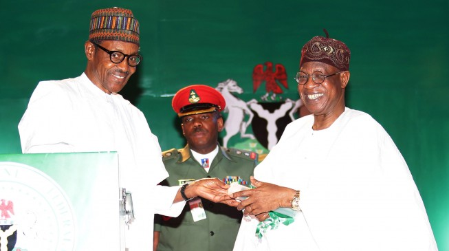 The entire world has endorsed Buhari's efforts, says Lai