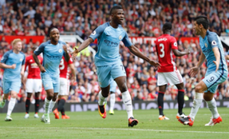 Aguero hat-trick, Iheanacho's late goal give Manchester City 4-0 victory