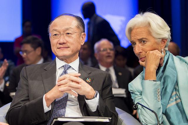 Lagarde and Jim Yong Kim