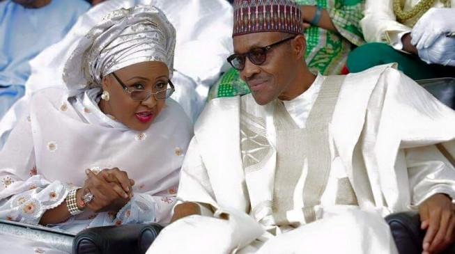 Buhari insists: Aisha belongs in my kitchen… she should stay out of politics
