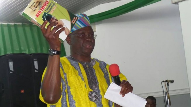 Fayose: Buhari has destroyed Jonathan's legacy of free and fair elections