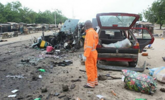 Again, suicide bomber hits Maiduguri, kills two