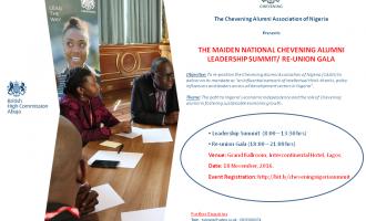 Chevening alumni reunite to discuss Nigeria's economic independence
