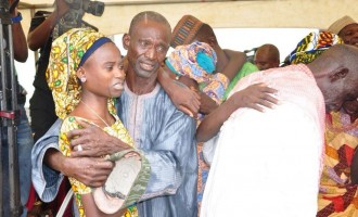 Jubilation in Chibok over 'release' of schoolgirls