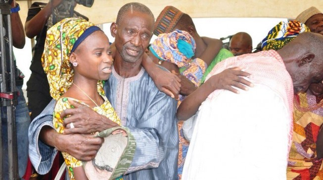 Chibok Girls Return Home For Christmas