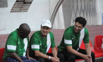 I'm very excited to be working with this Super Eagles team, says Rohr