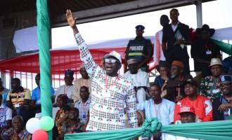 Oshiomhole: The Ize-Iyamu I know is not worth 50,000 votes