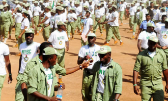 HURRAY! NYSC orientation back in Adamawa after 3-year break