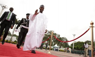Osinbajo: People want us to use recovered loot to build 'anti-corruption road'