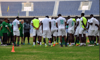 NFF backtracks, says Eagles will play Togo in France