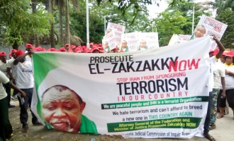 Tension in Kaduna ahead of Zakzaky's trial
