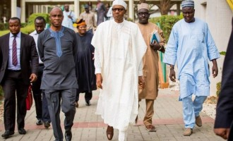PDP: 'Corrupt' judges have been suspended, why is Buhari keeping Amaechi, Onu?