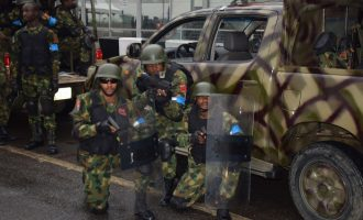 Angry soldiers ground Maiduguri airport, threaten to shoot superiors