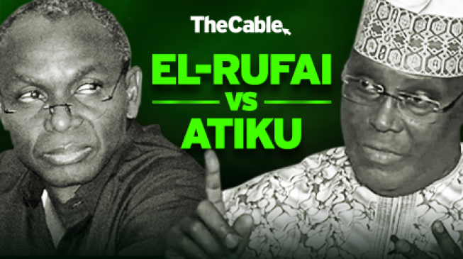 El-Rufai vs Atiku: Has the 2019 battle started so early?