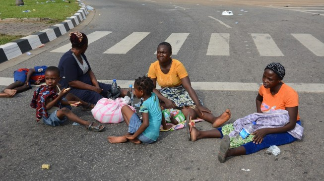 Armed men with 'full backing of police' evict new-born babies, level health centre in Lagos
