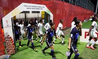 Falconets suffer 6-0 defeat from Japan