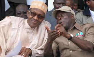 Tight security in Benin as Buhari bids Oshiomhole farewell
