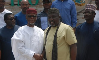 Nobody can bully you out of office, Okorocha tells Oyegun