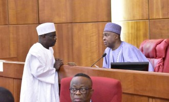 Ndume tackles Saraki: You can't shut down senate over personal issues