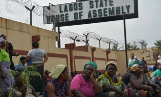 Slum dwellers take protest to Ambode as 'many drown' in forced eviction process