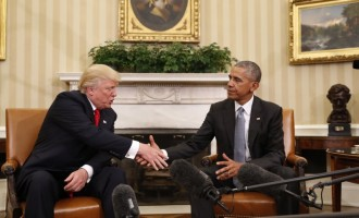 Obama possibly behind White House leaks, says Trump
