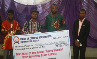 Adebajo, UI student threatened with rustication, wins 'Fisayo Soyombo essay contest