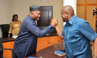 Wike is the shining light of infrastructural development, says Akpabio