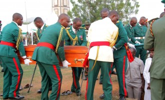 FG compensates families of 218 deceased soldiers