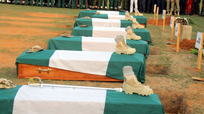 Army: We've buried 15 soldiers declared missing