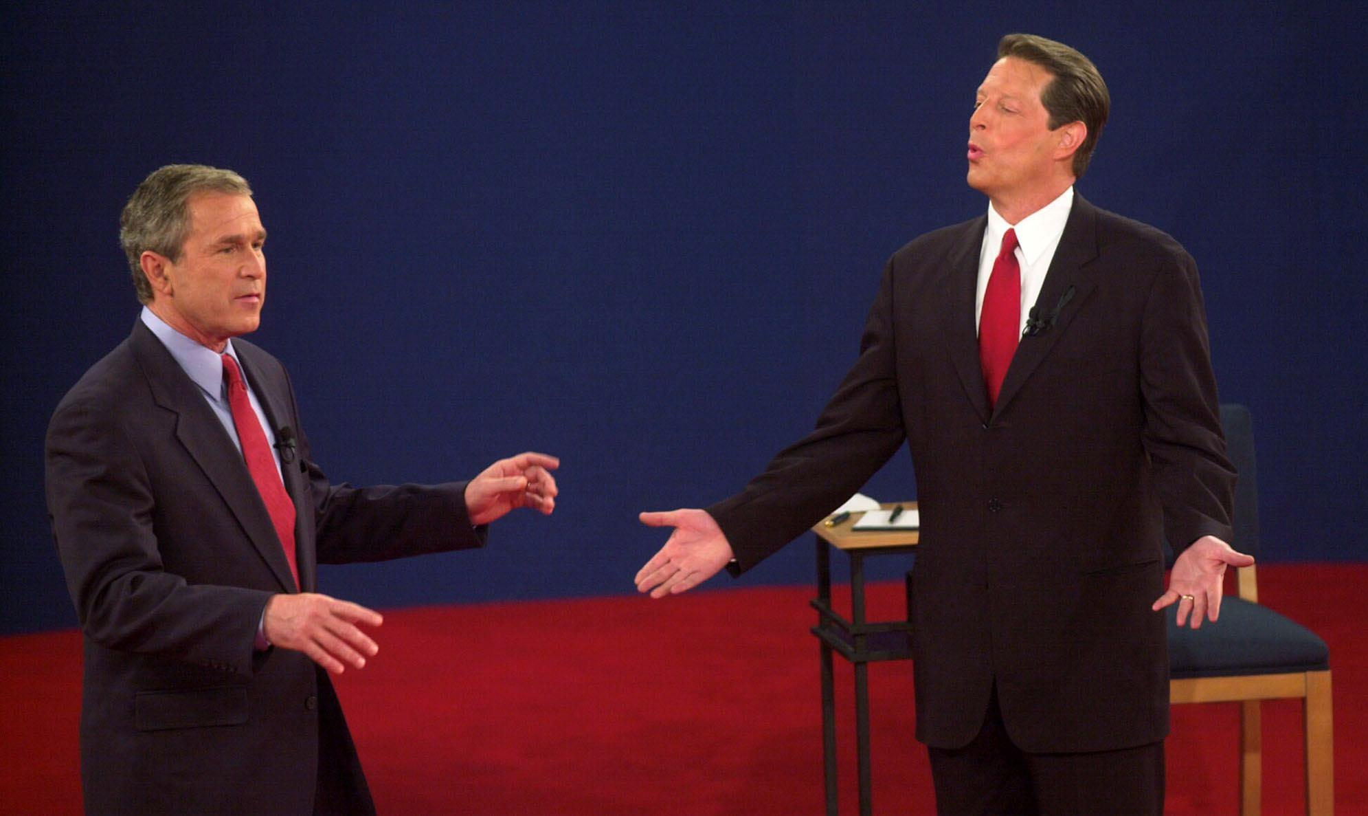 an analysis of the candidate profiles of al gore george bush and ralph nader Ralph nader, the green party candidate, got 2,185,330 pat buchanan, running with the reform party, had 430,307 harry browne, the libertarian, got 390,062 john hagelin, the natural law candidate, got 102,384 howard phillips, the constitution party candidate, garnered 93,136 james harris, the socialist workers party candidate got 7,249.