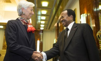 After conviction, Lagarde visits Cameroon to encourage six African leaders