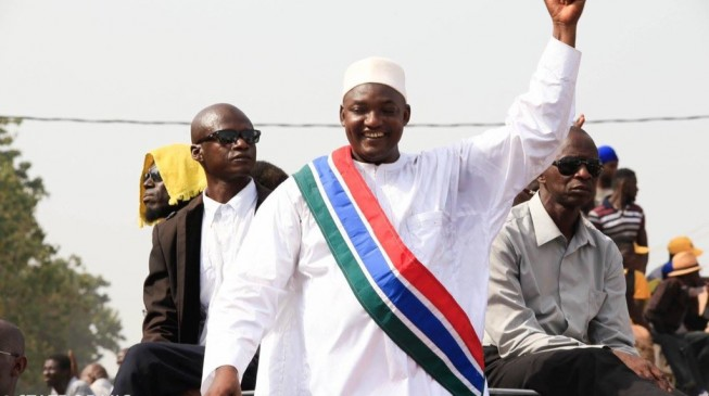 Gambia president files injunction to bar swearing in of president-elect