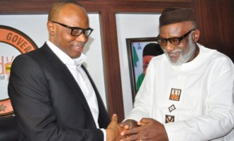 Akeredolu: I inherited over N220bn debt from Mimiko
