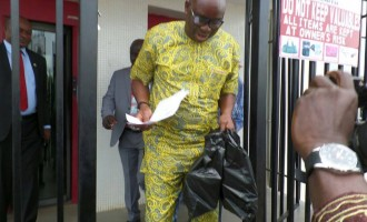 EXTRA: Fayose withdraws N5m from 'frozen' account