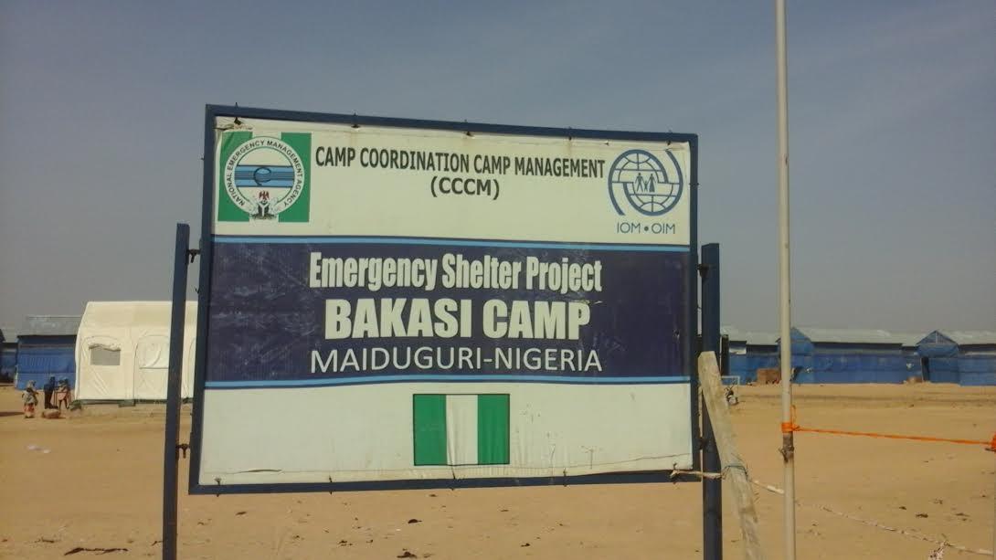 Bakassi Camp Signpost
